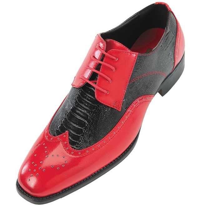Black Snakeskin Shoes Mens