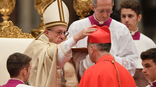 VATICAN-POPE-CONSISTORY